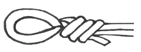 Boho Wrap Bracelet - Loop Template