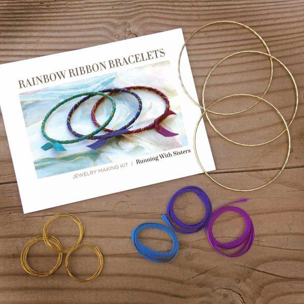 Rainbow Ribbon Bracelets Bahama Waters Kit