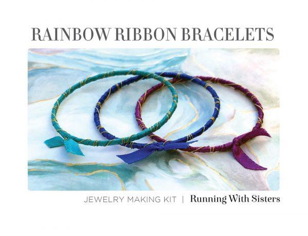Rainbow Ribbon Bracelets Bahama Waters Kit Insert