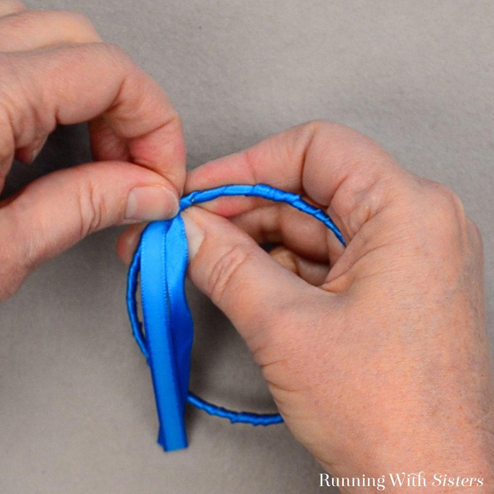 Rainbow Ribbon Bracelets - Undo Temporary Knot
