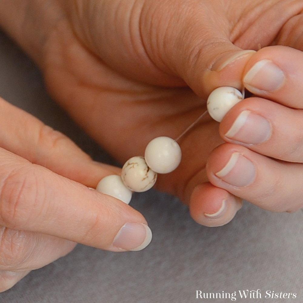 Gemstone Stretch Bracelet - Feed On Remaining Beads