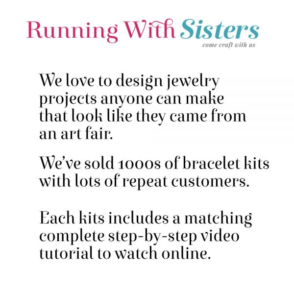 Running With Sisters Jewelry Making Kits