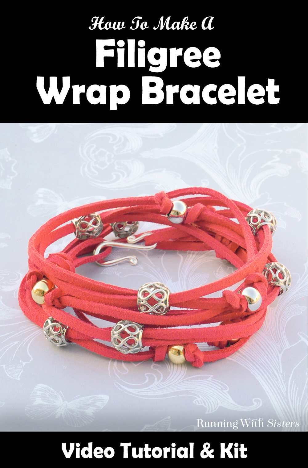 Filigree Wrap Bracelet Coral Pinterest