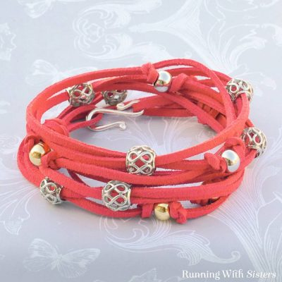 Coral Filigree Wrap Bracelet How-To, Video and Kit