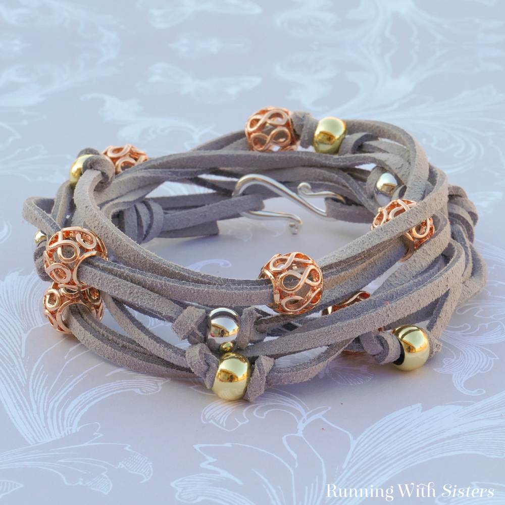 Filigree Wrap Bracelet Kit Gray