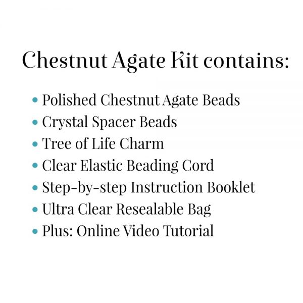 Chestnut Agate Kit Contains