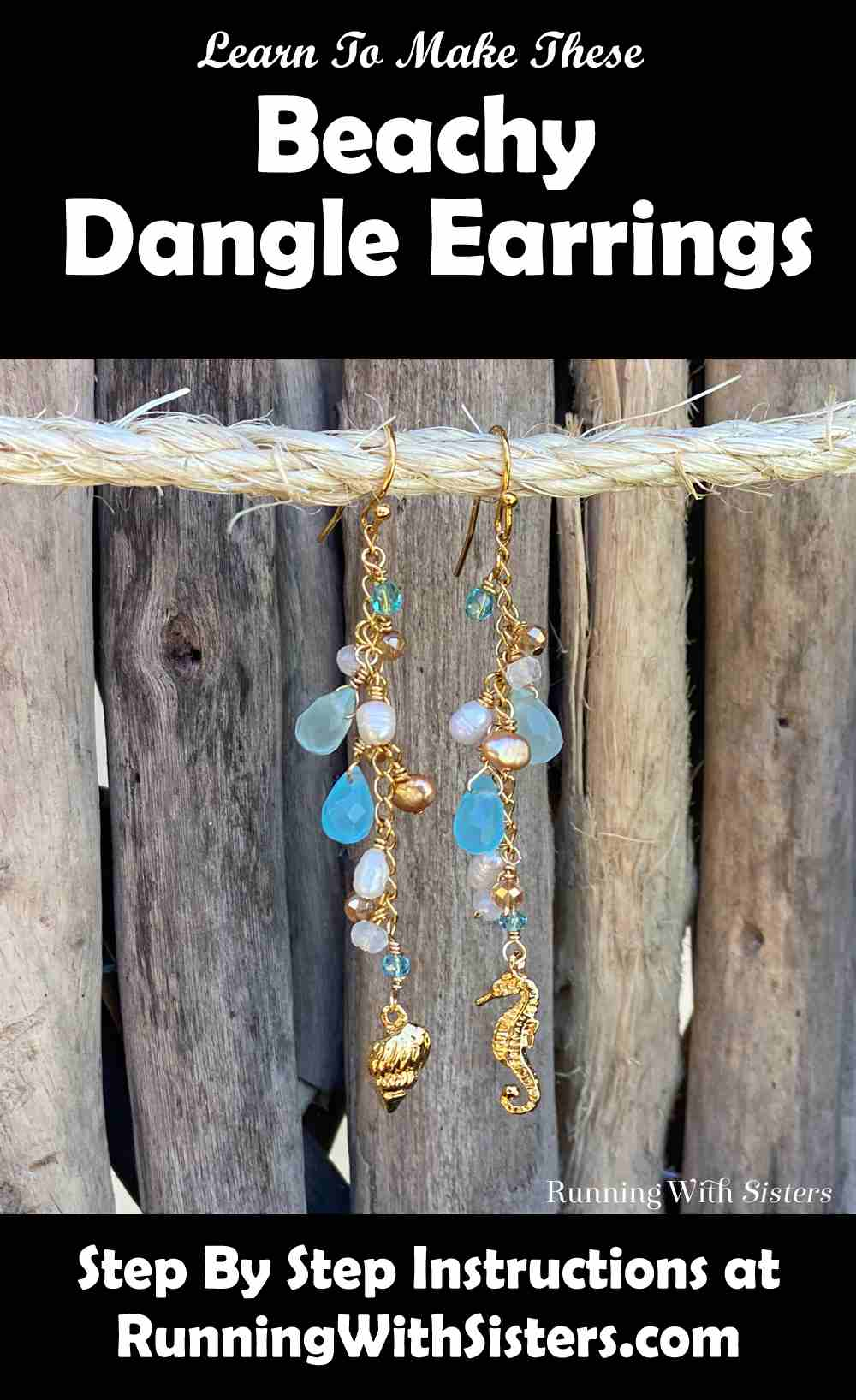 Beachy Dangle Earrings Pinterest