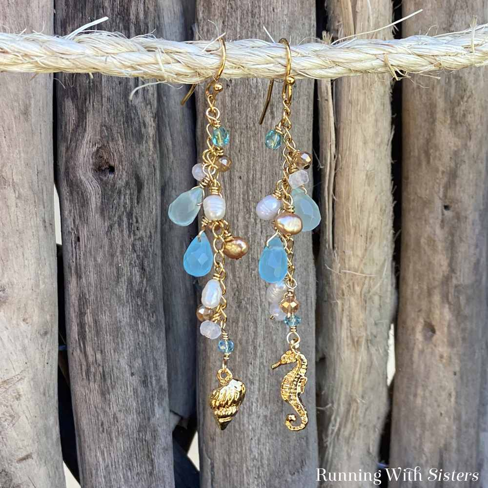 Beachy Dangle Earrings