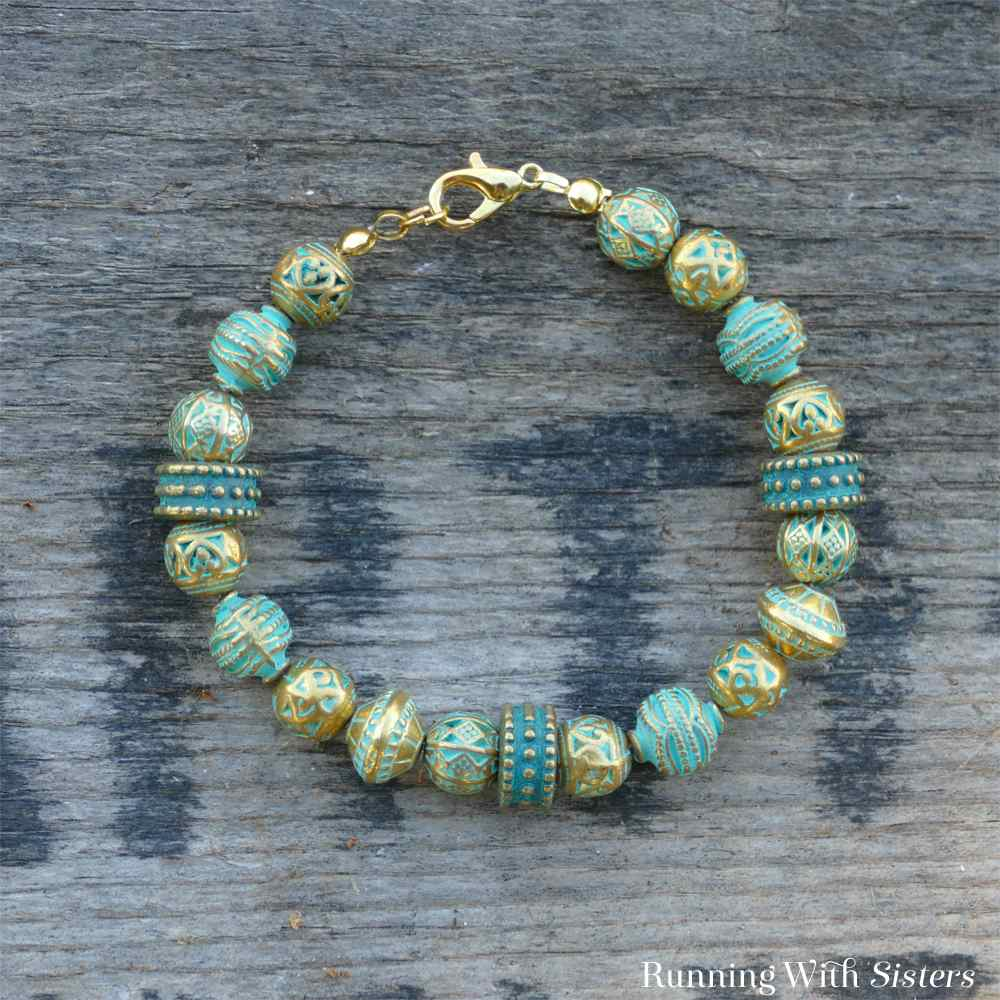 Turn A Bead Strand Into A Bracelet