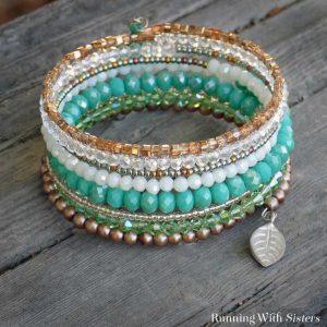 Valencia Memory Wire Bracelet