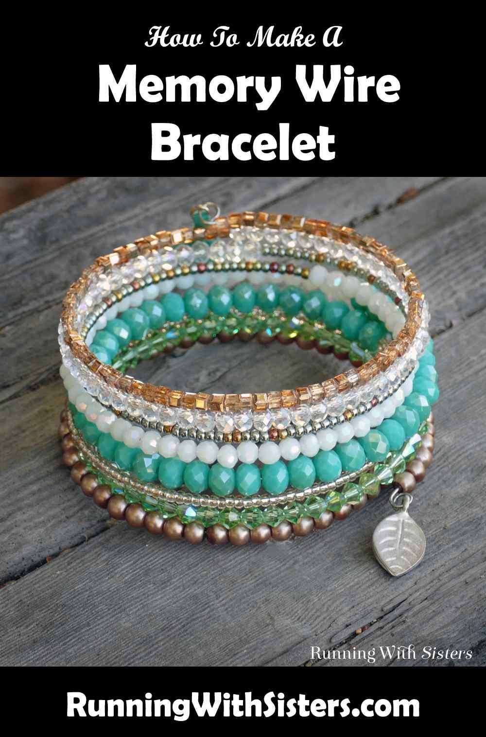 Valencia Memory Wire Bracelet Pinterest