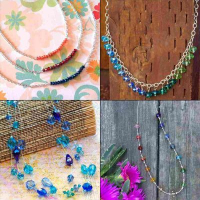 Four Fabulous Necklaces To Make As Gifts!