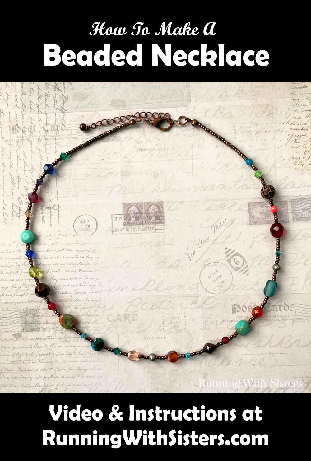Calliope Beaded Necklace Pinterest