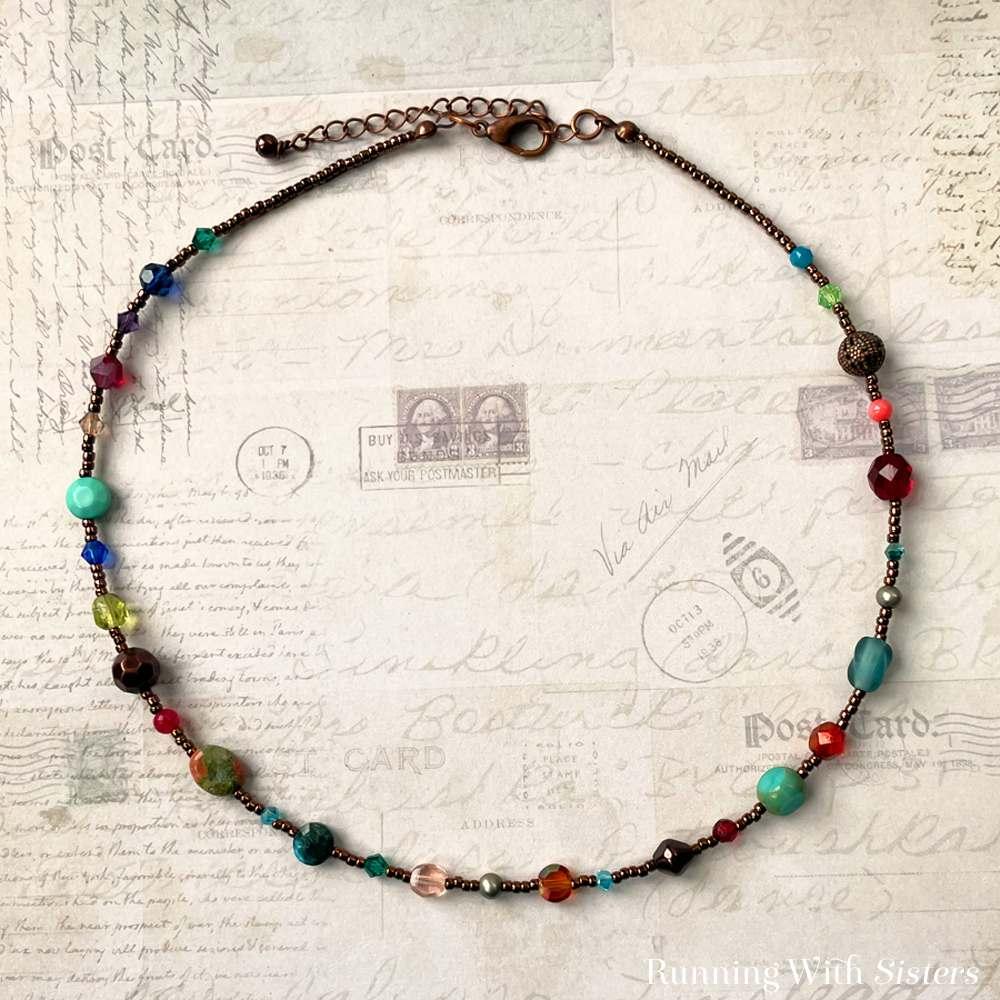 Calliope Beaded Necklace