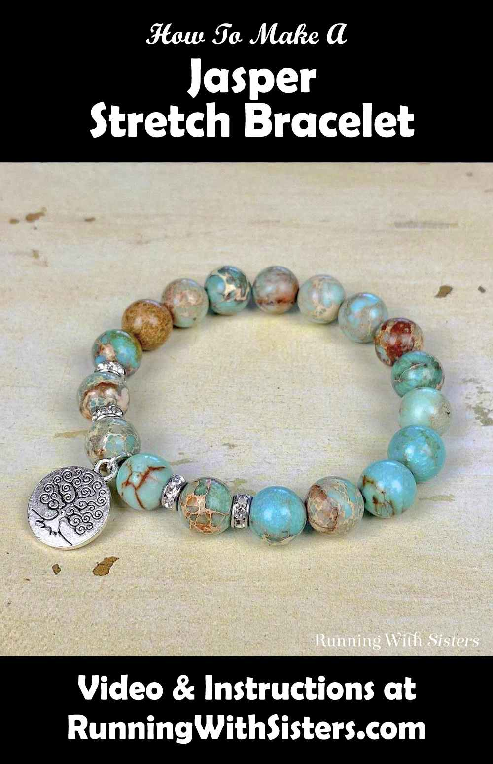 Jasper Stretch Bracelet Pinterest