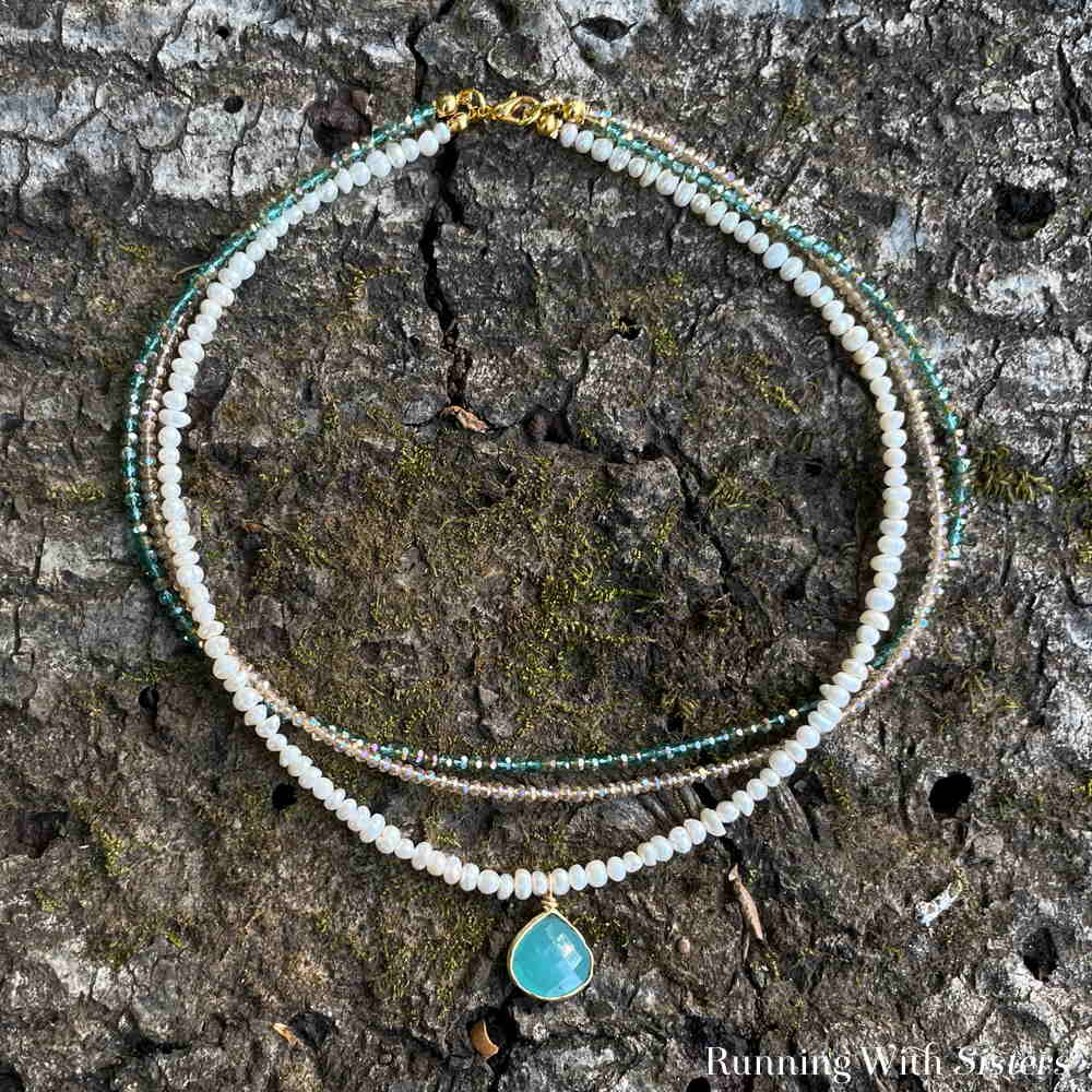 Beaded Layering Necklace Square