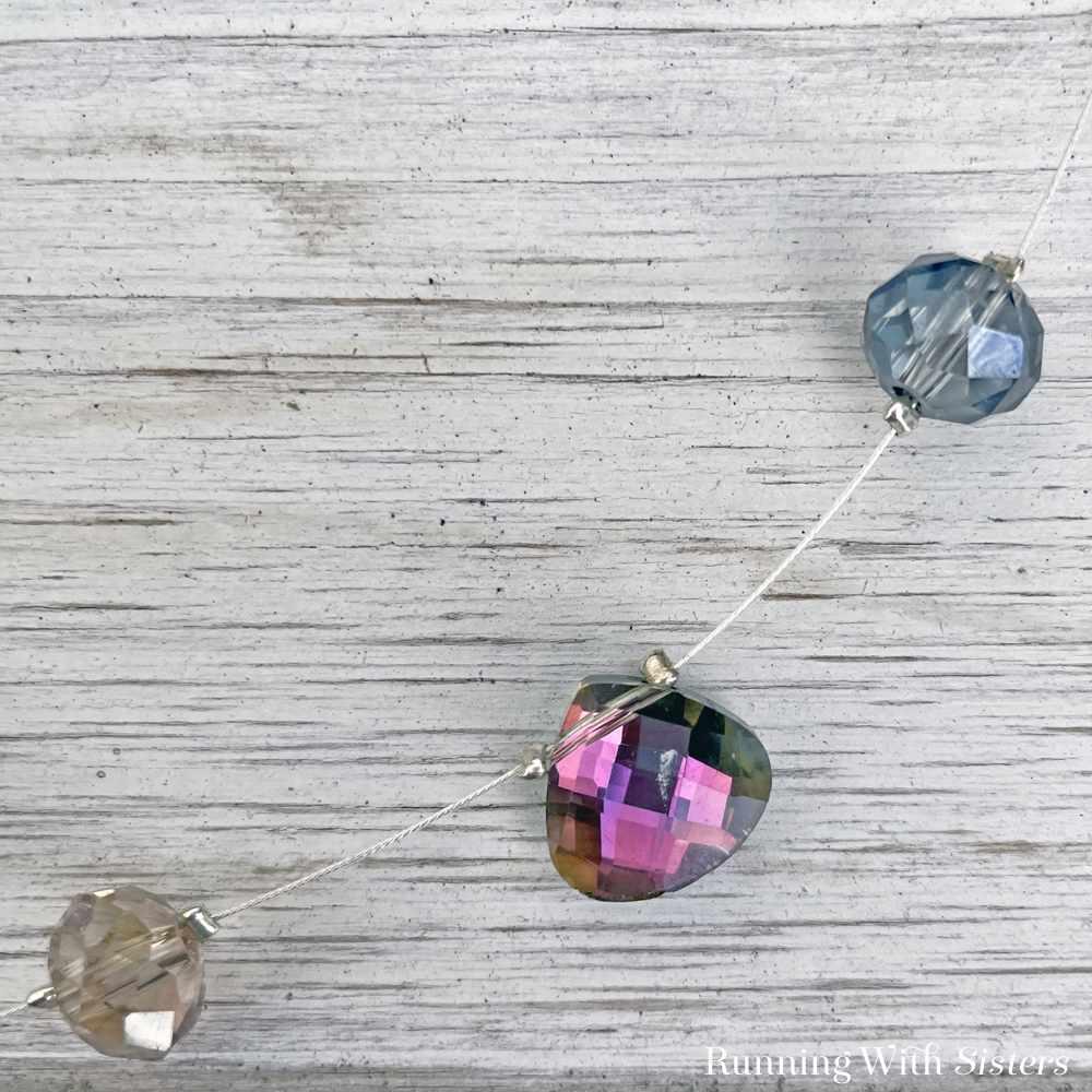 Mystic Crystal Illusion Necklace Detail Briolette 2