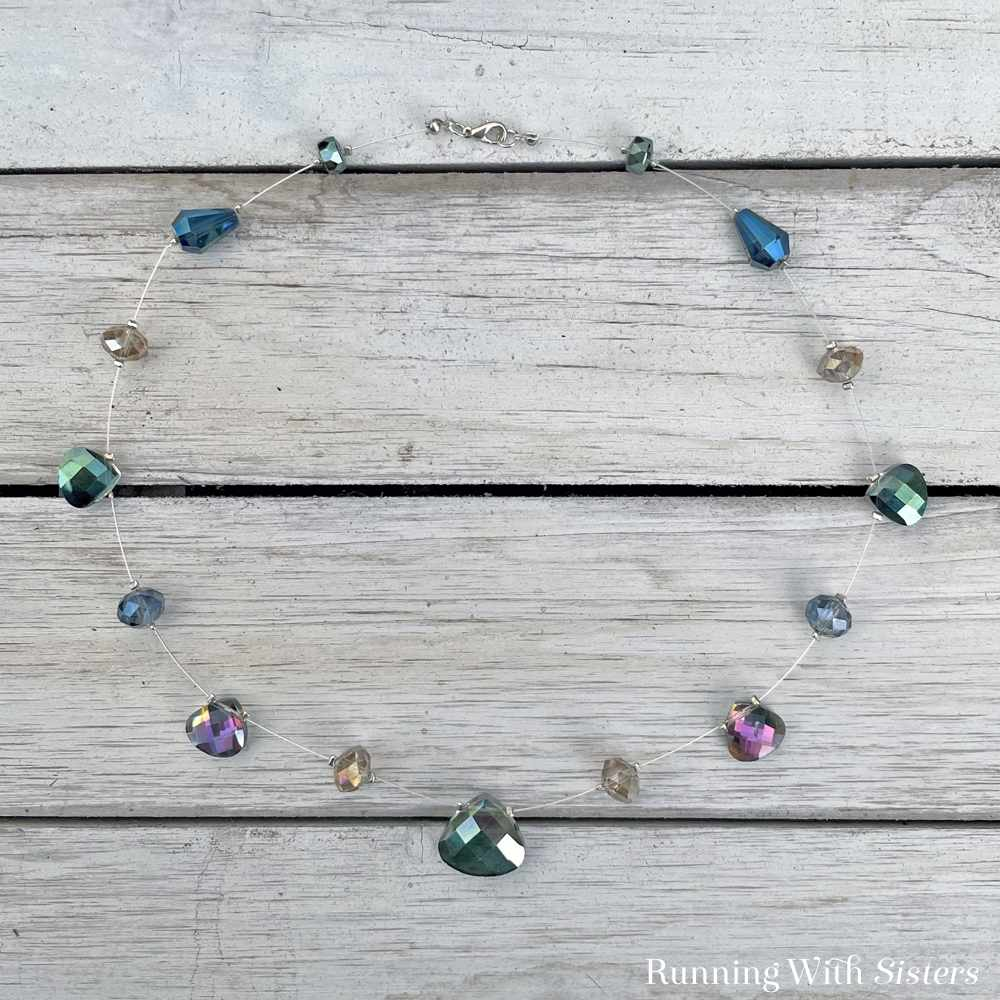 Mystic Crystal Illusion Necklace