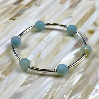 Tube Bead Stretch Bracelet