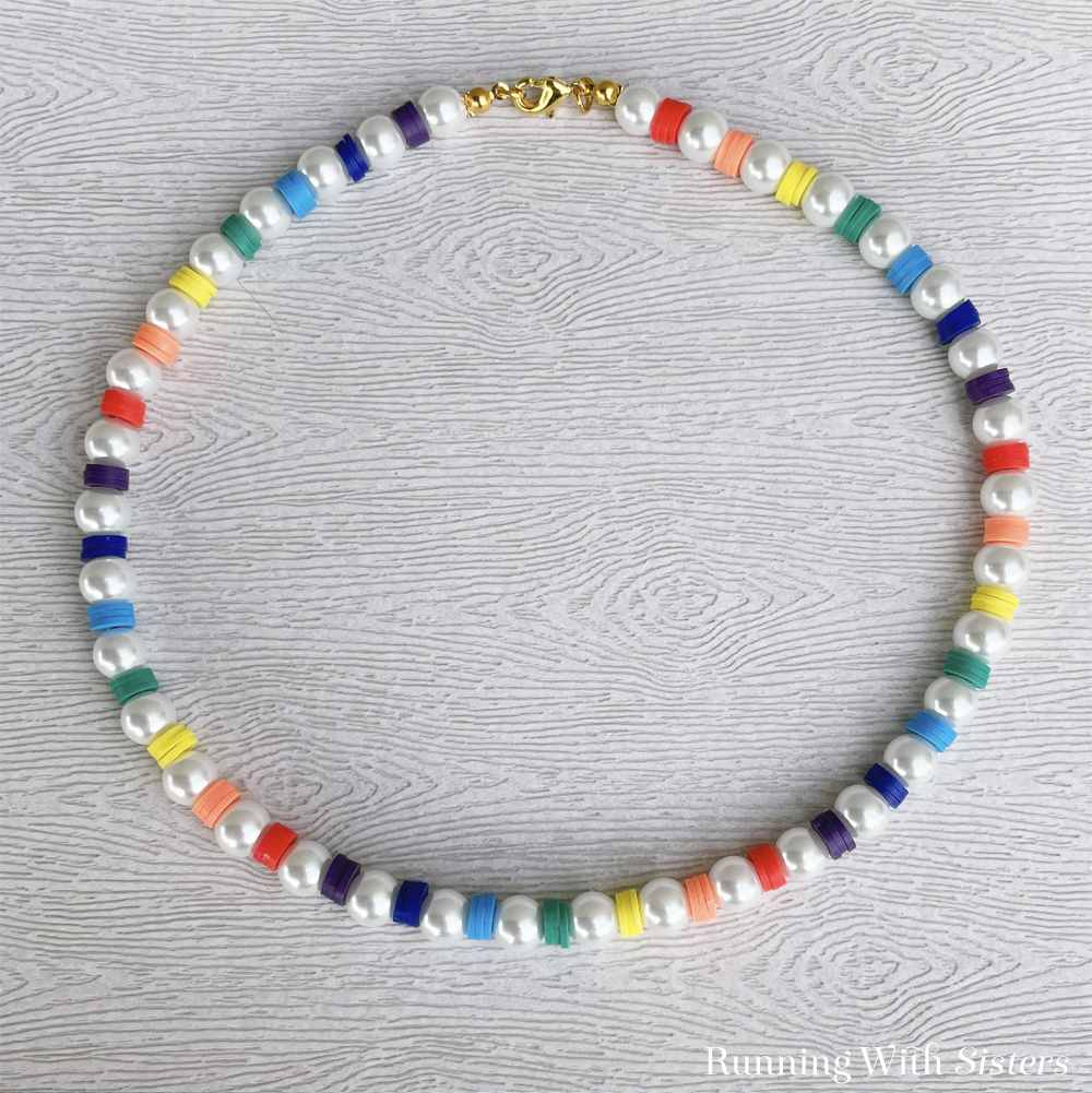 Spring Brights Pearl Necklace Square 1
