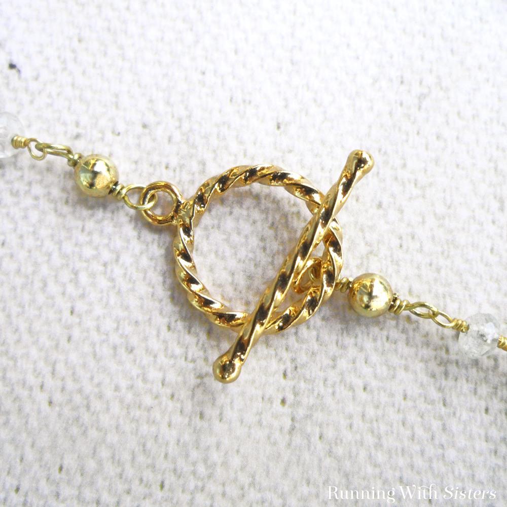 Beautiful Briolette Necklace Clasp